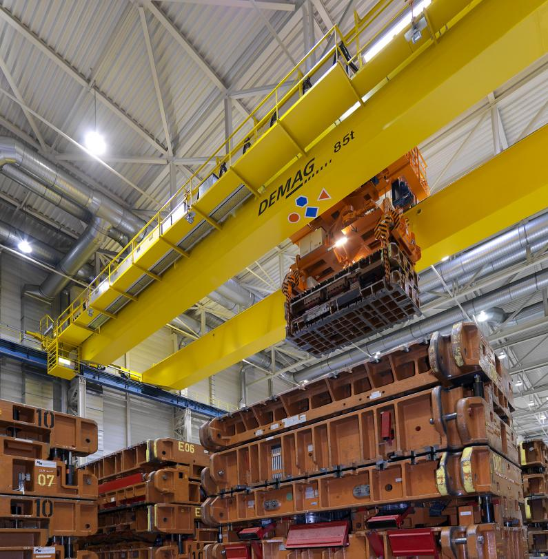 Demag process crane reviews