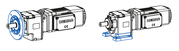Flange-mounted type DF / Foot-mounted type DG