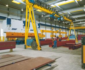 ZVPE double-girder full-portal cranes