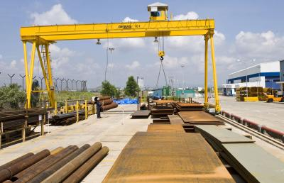 EVPE, ZVPE full-portal cranes up to 50 tonnes